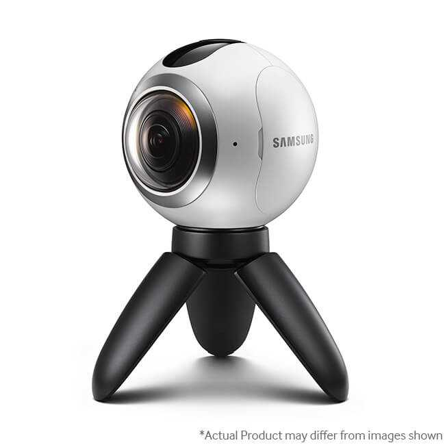 Samsung introduces a spherical 360-degree camera