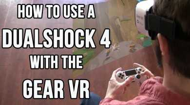 Gear VR: How to Use a DualShock 4 (Plus a DualShock 4 Giveaway!)
