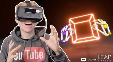 IMPRESSIVE HAND TRACKING! | Blocks VR (Oculus Rift DK2 + Leap Motion Orion)