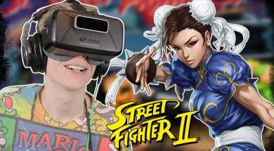 STREET FIGHTER IN VR! | New Retro Arcade (Oculus Rift: DK2)