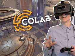 ESCAPING PUZZLE CHAMBERS! | CoLab: Exclusive Gameplay (Oculus Rift DK2)