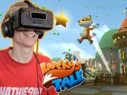 Lucky's Tale: Chapter 1 (Oculus Rift DK2) with Nathie