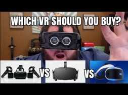 Virtual Reality – PSVR VS Rift Vs Vive