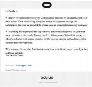 OculusDelay
