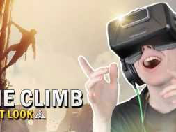 BEAUTIFUL CLIMBING GAME! | The Climb (Oculus Rift Gameplay)