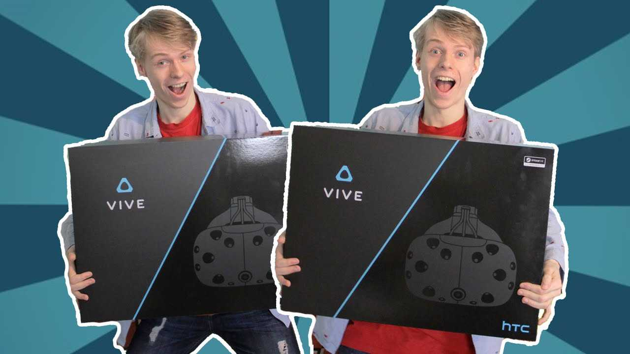 Unboxing two Consumer HTC Vives!? (Nathie Unboxes)
