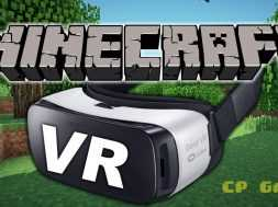 Minecraft in VIRTUAL REALITY with the Gear VR Gameplay and First Impressions