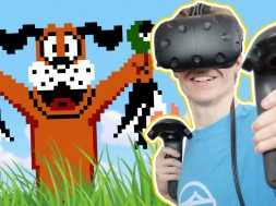 NINTENDO CLASSIC IN VIRTUAL REALITY! | Duck Hunt VR (HTC Vive Gameplay)