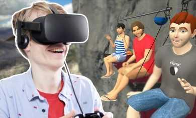 AMAZING SOCIAL VR EXPERIENCE! | Vtime (Oculus Rift CV1)