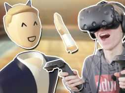 CRAZY SOCIAL VR MULTIPLAYER GAME! | Rec Room (HTC Vive Gameplay)