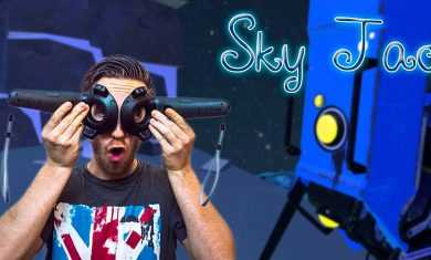 STICK A LASER IN MY EYE! | Sky Jac – HTC Vive Gameplay