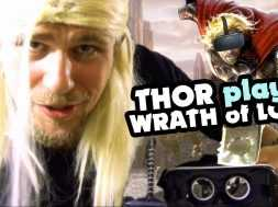 Thor Plays – Wrath Of Loki in the GearVR
