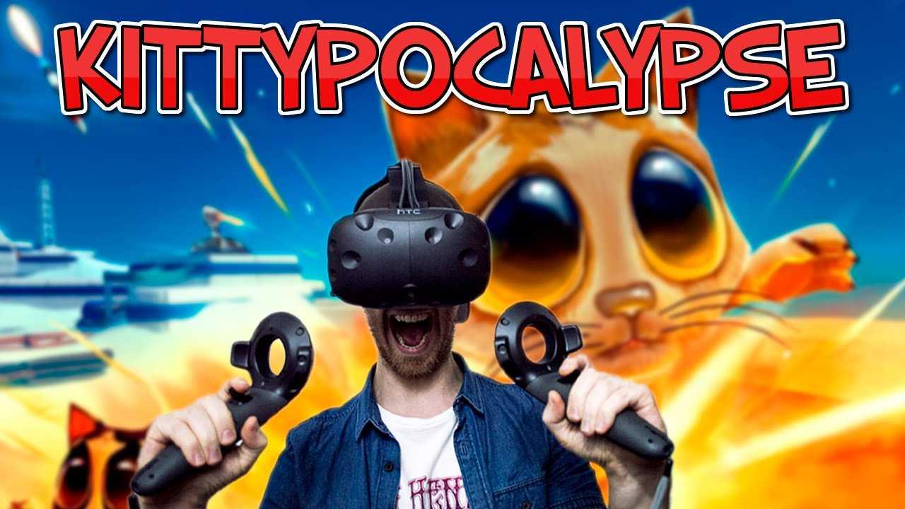 TOWER DEFENSE IN VR!   Kittypocalypse – HTC Vive Gameplay