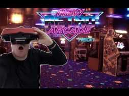Visit the Arcade in Virtual Reality New Retro Arcade Neon for the HTC Vive