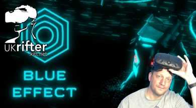 Blue Effect Spooky Shooter HTC Vive Game Play by UKRifter