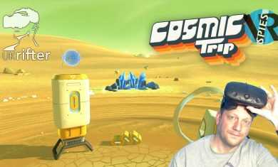 Cosmic Trip VR HTC Vive Gameplay Review by UKRifter