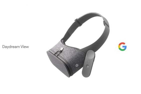 Google showed his VR headset Daydream View!