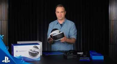 Official unboxing of the PlayStation VR Virtual Reality Unit | PSVR