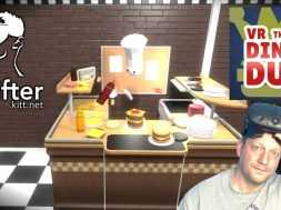 VR The Diner Duo – Burger Flipping for fun – HTC Vive Game Play by UKRifter