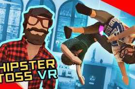 Hipster Toss VR  Tossing hipsters (before it was cool)