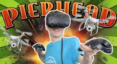 ALMOST KILLED MYSELF WITH A DRONE… | Pierhead Arcade VR #2 (HTC Vive Gameplay)