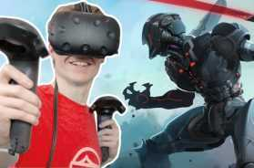BECOMING A CYBER SAMURAI IN VIRTUAL REALITY! | Sairento VR (HTC Vive Gameplay)