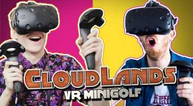 FUNNY MULTIPLAYER MOMENTS | Cloudlands VR Minigolf (HTC Vive Gameplay)