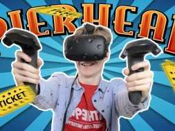 THE VIRTUAL REALITY DRONE CHALLENGE   Pierhead Arcade VR #1 (HTC Vive Gameplay)