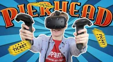 THE VIRTUAL REALITY DRONE CHALLENGE | Pierhead Arcade VR #1 (HTC Vive Gameplay)