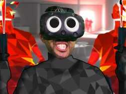 HEADSHOT ONLY CHALLENGE   SuperHot (HTC Vive Virtual Reality)