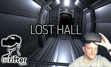 LOST IN A LONG HALLWAY SOMEHOW?   LOST HALL (Oculus Rift VR Gameplay)