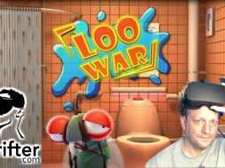 VR ON THE TOILET | LOO WAR (Oculus Rift VR Game Play)