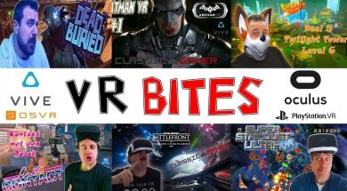 Welcome to VR Bites new clean start soon